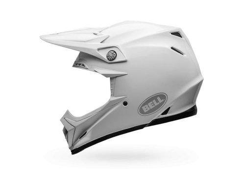 Bell Helmet Moto-9 Flex White crosshelm