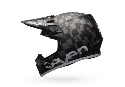 Bell Helmet MX-9 Seven Matte Checkmate crosshelm