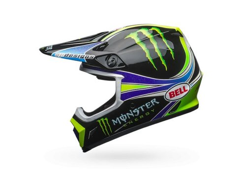 Bell Helmet MX-9 Gloss Circuit Replica 18.0 crosshelm