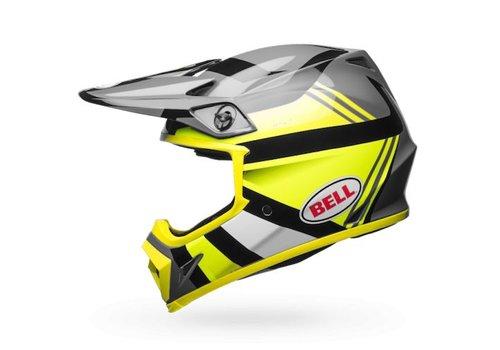 Bell Helmet MX-9 Hi-Viz Yellow/Black Marauder crosshelm