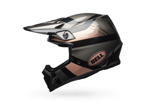 Bell Helmet MX-9 Gloss Copper/Black/Charcoal crosshelm