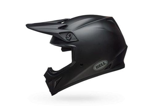 Bell Helmet MX-9 Matte Black crosshelm