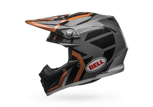 Bell Helmet Moto-9 Copper/Black Charcoal District crosshelm