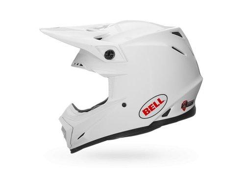 Bell Helmet Moto-9 Gloss White crosshelm