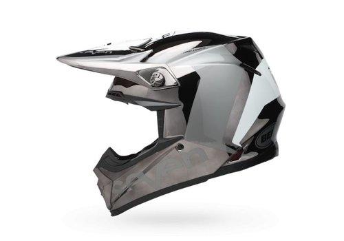 Bell Helmet Moto-9 Flex Seven Black/Chrome Rogue crosshelm