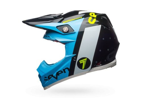 Bell Helmet Moto-9 Flex Seven Flight Black crosshelm