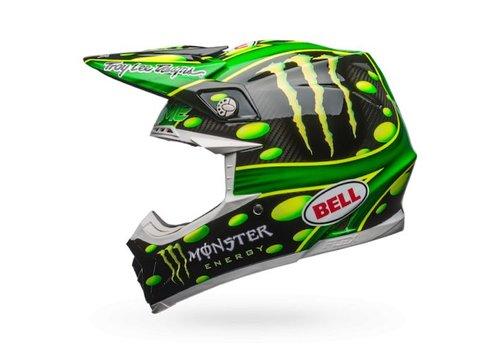 Bell Helmet Moto-9 Flex MC Monster Replica 18.0 Gloss crosshelm