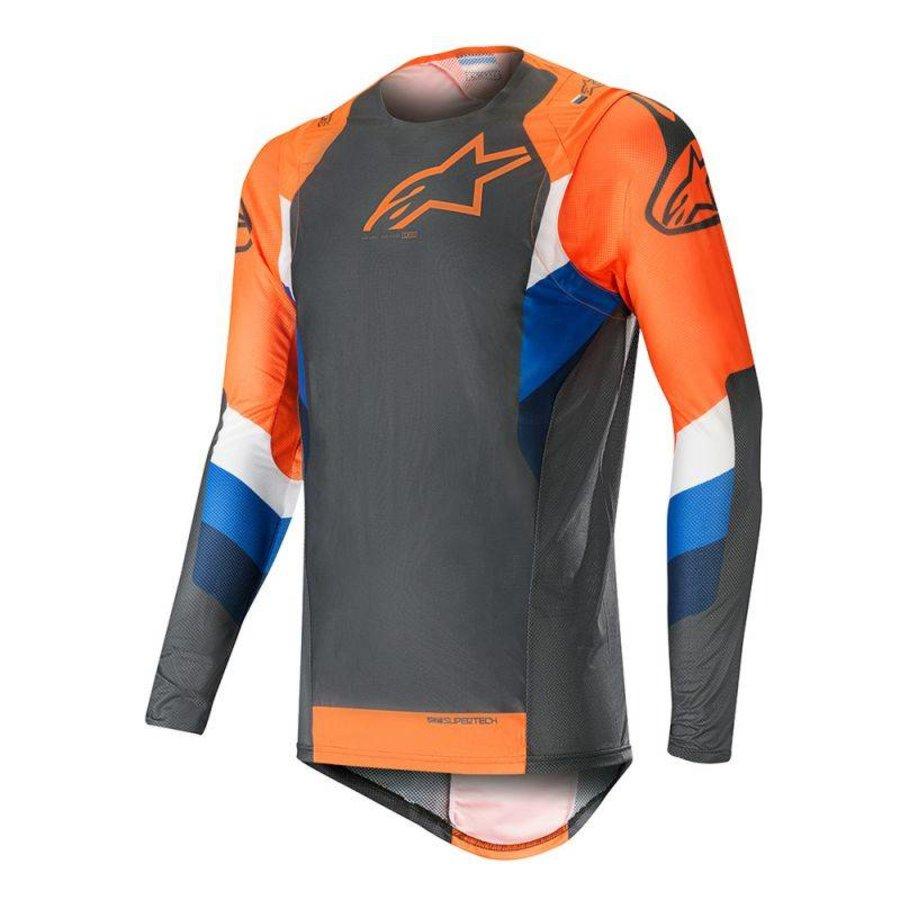 Alpinestars Vision Supertech Anthracite Orange Fluo shirt