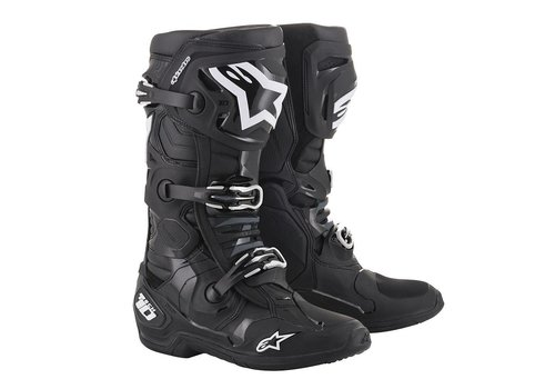 Alpinestars Tech 10 Black crosslaarzen
