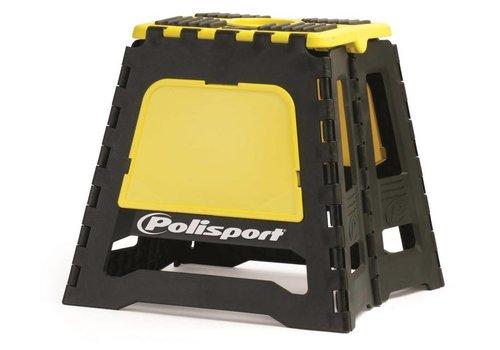 Polisport motorbok - zwart/geel