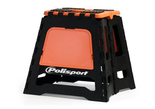 Polisport motorbok - zwart/oranje
