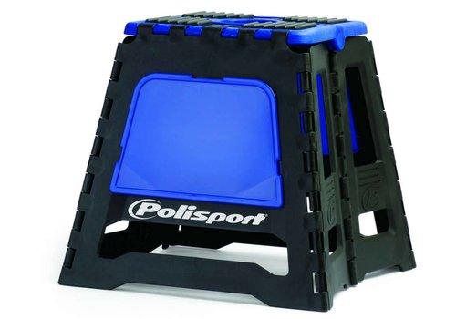 Polisport motorbok - zwart/blauw