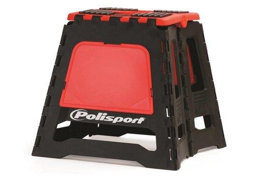 Polisport motorbok - zwart/rood