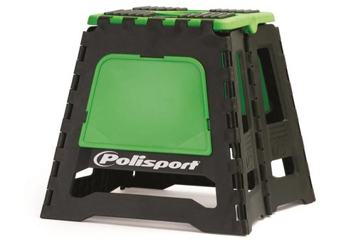 Polisport motorbok - zwart/groen