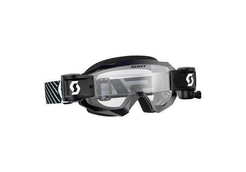 Scott Hustle x mx WFS crossbril - zwart/wit