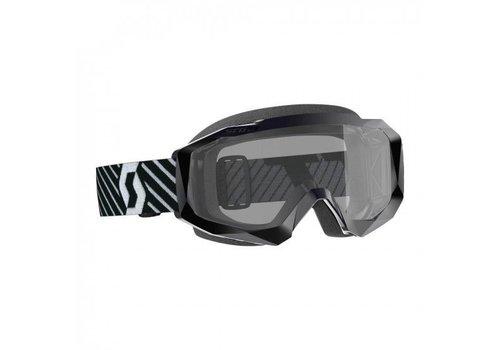Scott Hustle x mx sand dust crossbril - zwart/wit
