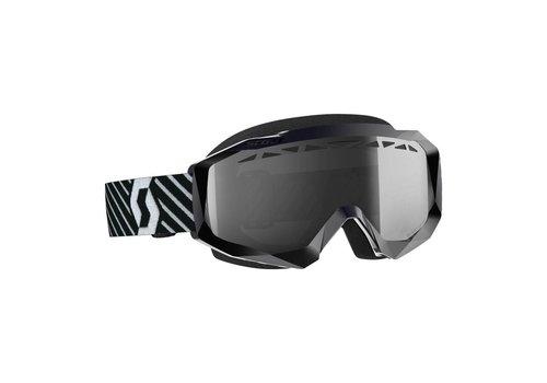 Scott Hustle x mx enduro LS crossbril - zwart/wit