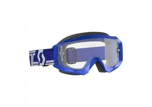 Scott Hustle x mx crossbril - blauw/wit