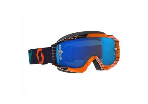 Scott Hustle x mx crossbril - oranje/blauw