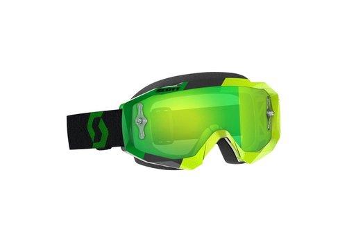 Scott Hustle x mx crossbril - geel/groen