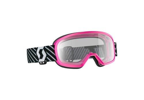Scott Buzz mx pro kinder crossbril - roze/zwart