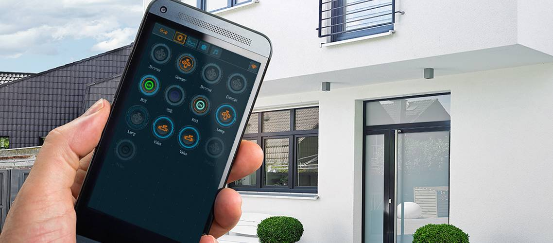 Larnitech Smart Home Systeem