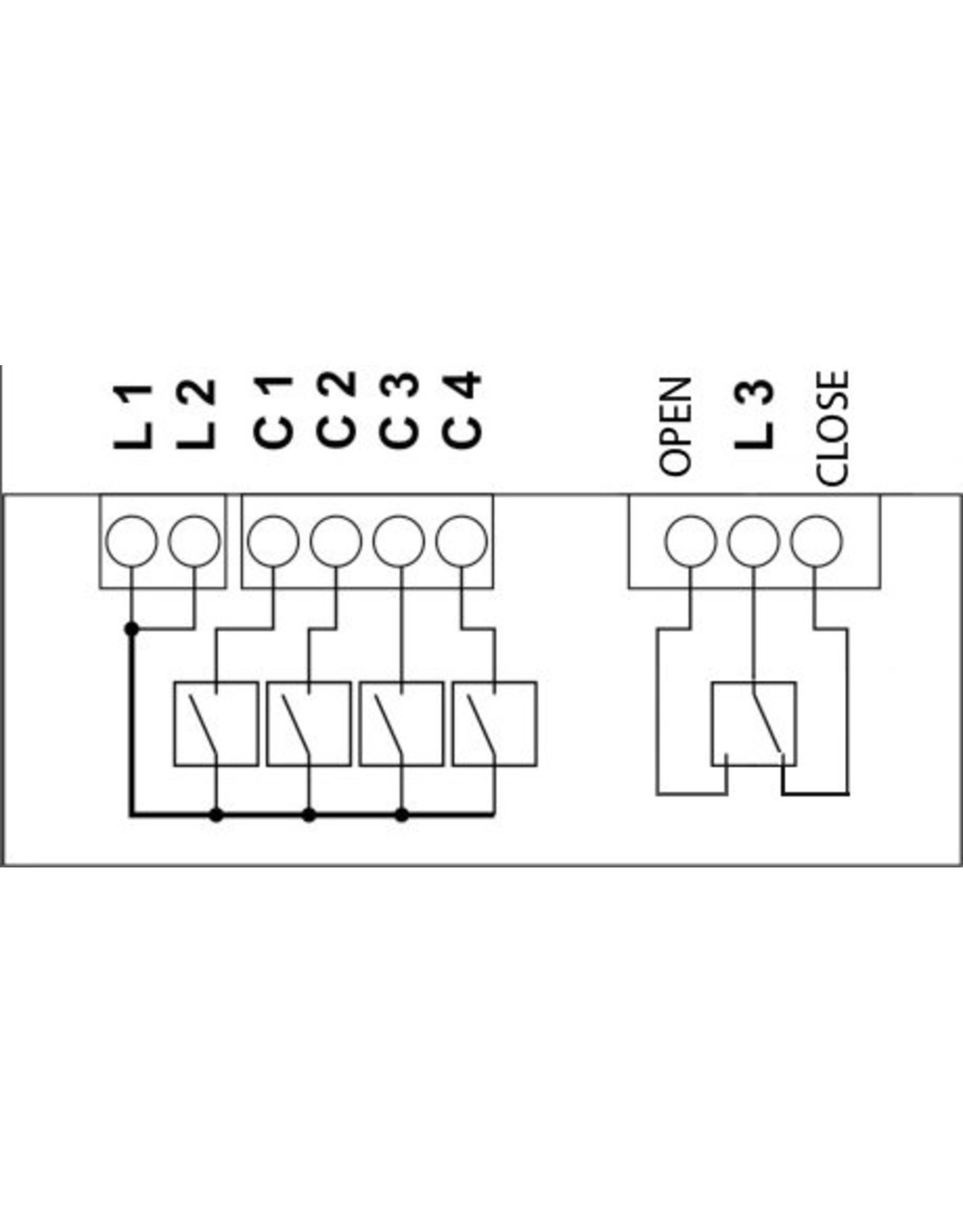 Larnitech DW-HT05 - 5-kanaals uitbreidingsmodule voor Metaforsa