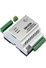 Larnitech DW-HC08 - 8-kanaals DIN-rail verwarmingsmodule