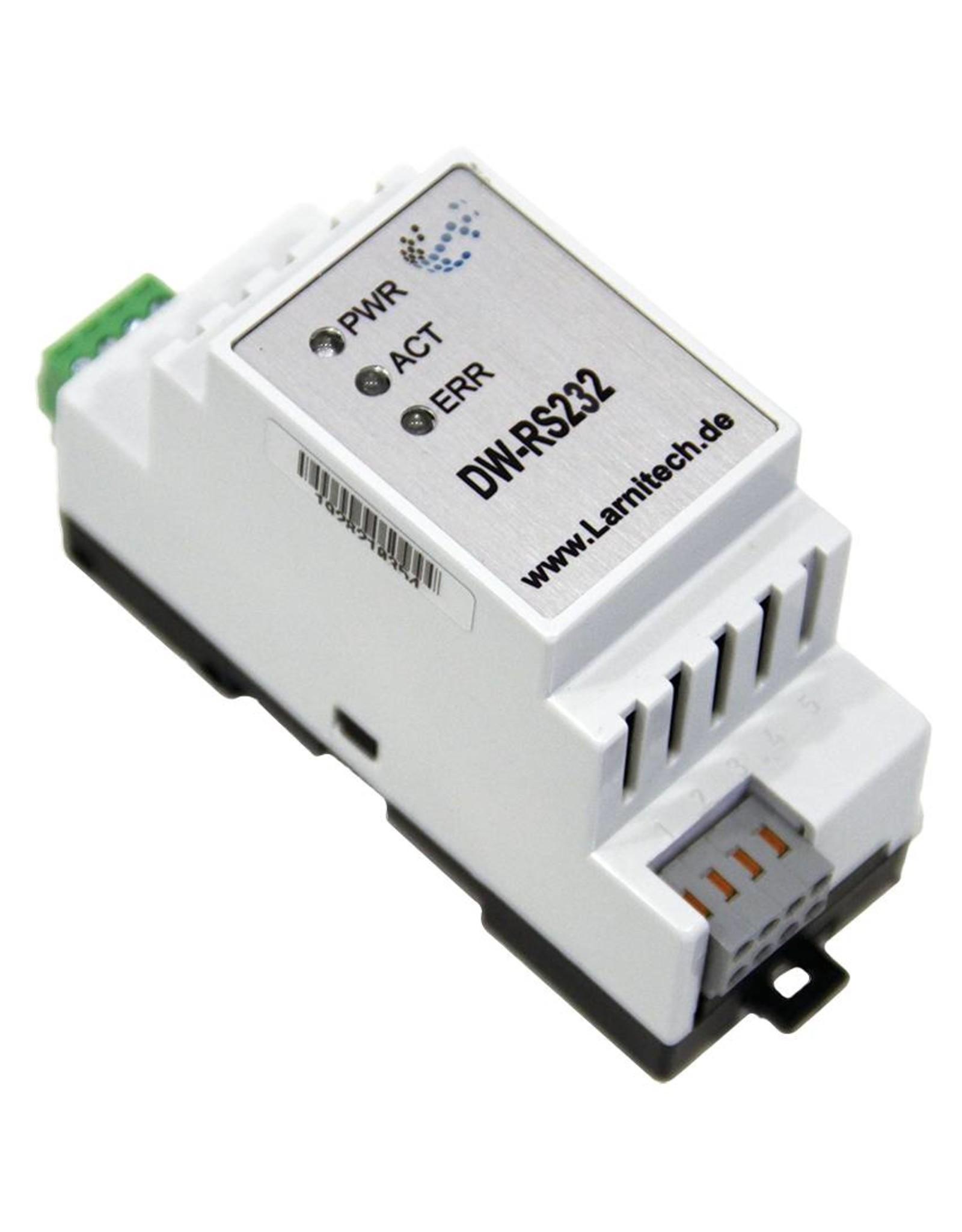 Larnitech DW-RS232 - DIN-rail RS232 interface