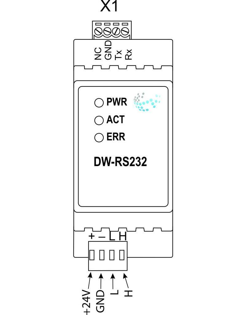 Larnitech DW-RS232