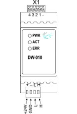 Larnitech DW-010 - DIN-rail 0-10v interface