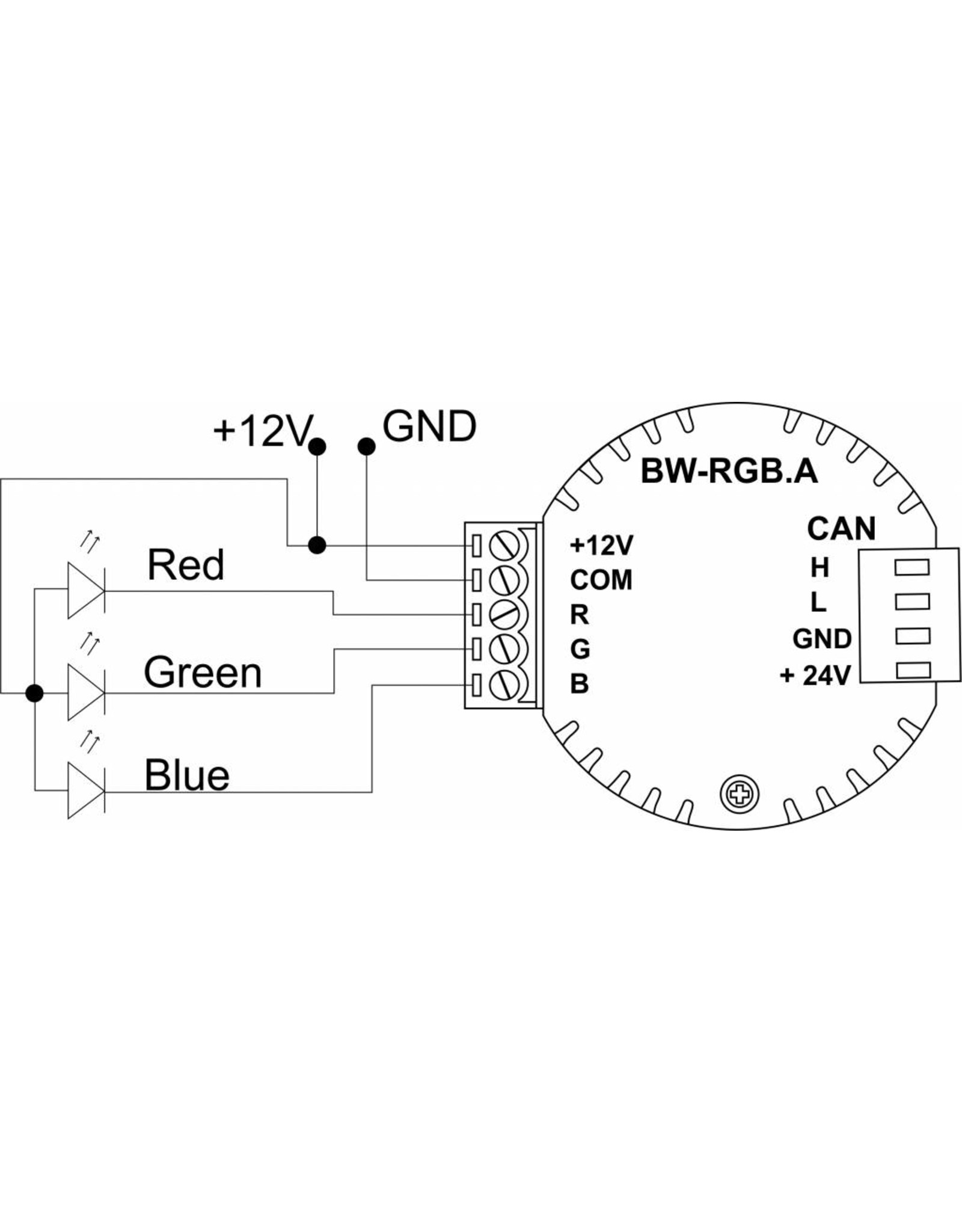 Larnitech BW-RGB