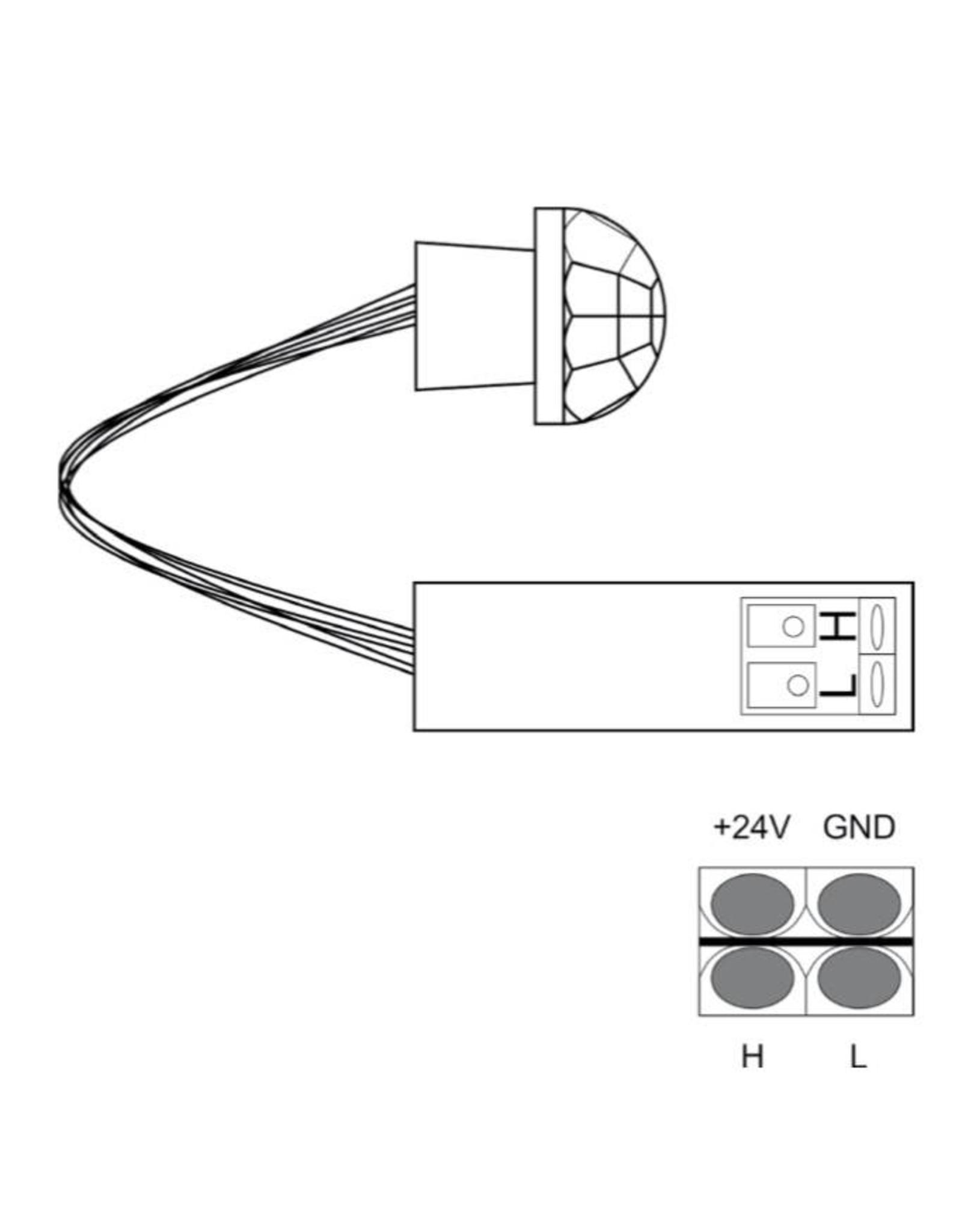 Larnitech CW-M - Bewegingssensor inbouw