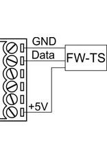 Larnitech FW-TS - Temperatuursensor inbouw