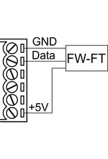 Larnitech FW-FT - Temperatuursensor voor vloerverwarming of buiten