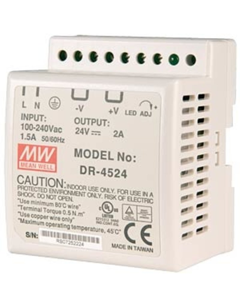 Mean Well Powersupply Mean Well DR-45-24