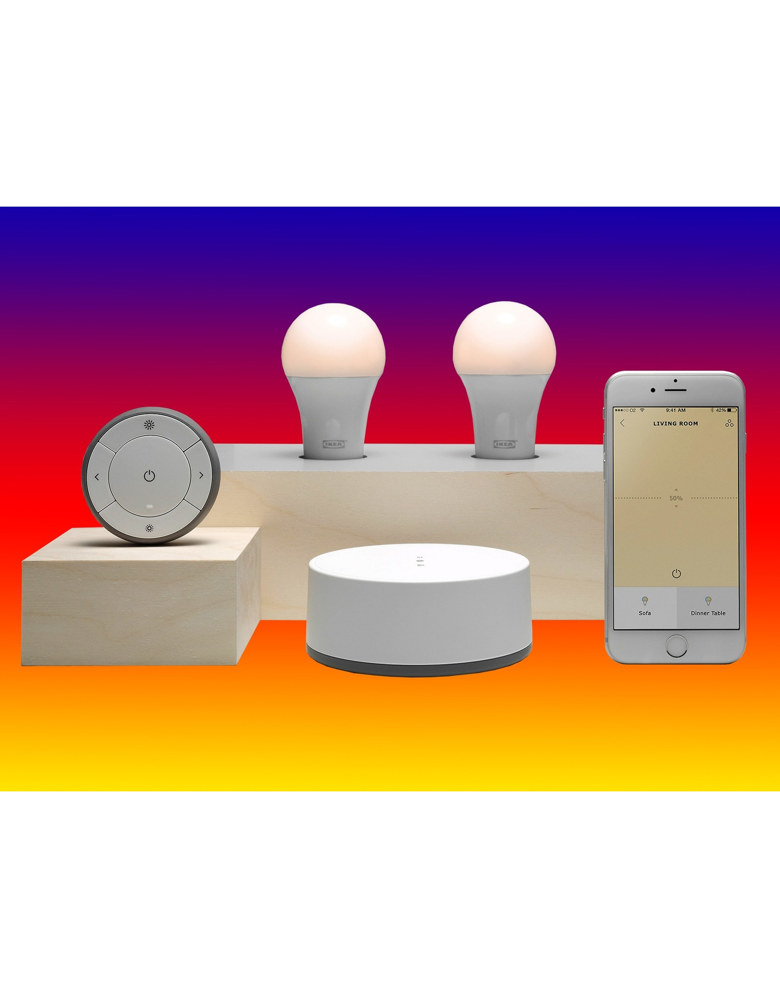Larnitech Licentie - IKEA - maximaal 10 lampen