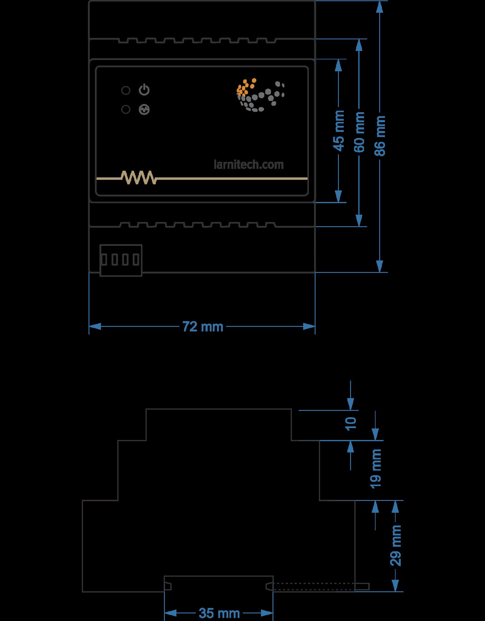 Larnitech DW-RGB03