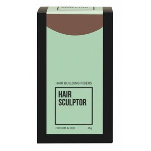 HAIR SCULPTOR LICHT BRUIN HAIR BUILDING FIBERS 25GR