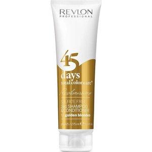 Revlon 45 Days 2 in 1 Shampoo, Golden Blondes