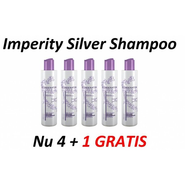 IMPERITY Blonderator Silver Shampoo, 4 + 1 Gratis