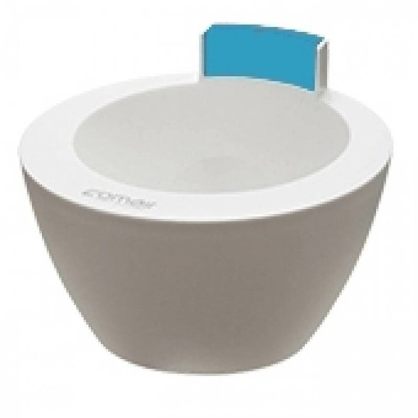 comair Hair Treatment Bowl Wit/Blauw