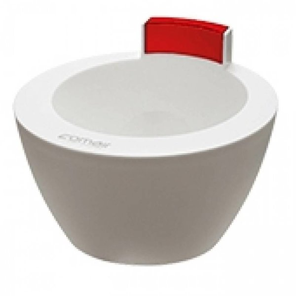comair Hair Treatment Bowl Wit/Rood