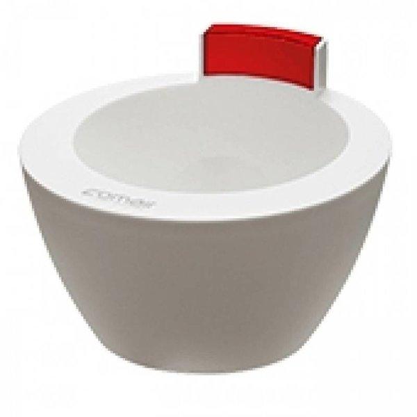 comair Hair Treatment Bowl Wit/Rood