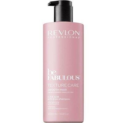 Revlon Be Fabulous Smooth Hair Anti-Frizz Shampoo, 1000ml