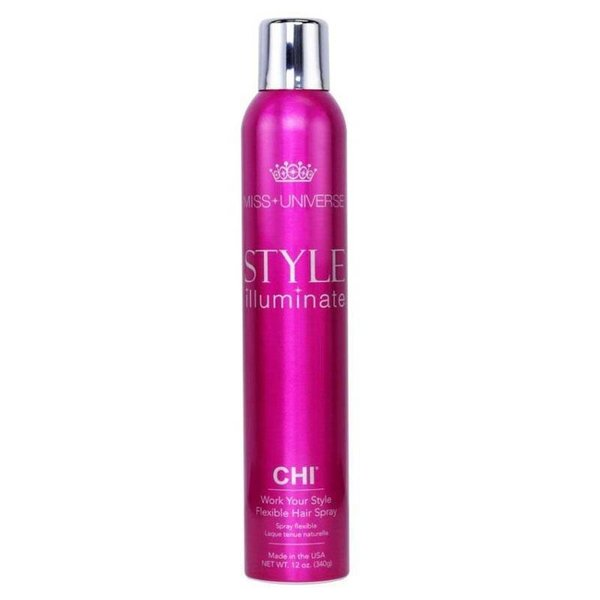 CHI Miss Universe Style Illuminate, Work Your Style Flexible Hair Spray