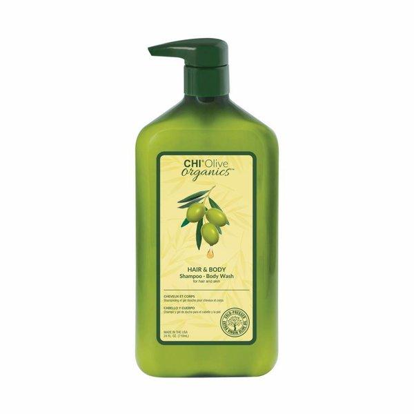 CHI Olive Organics - Hair & Body Shampoo, 710ml