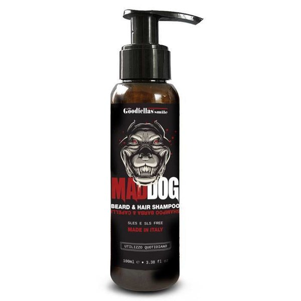 Goodfellas Smile Maddog Beard & Hair Shampoo100ml