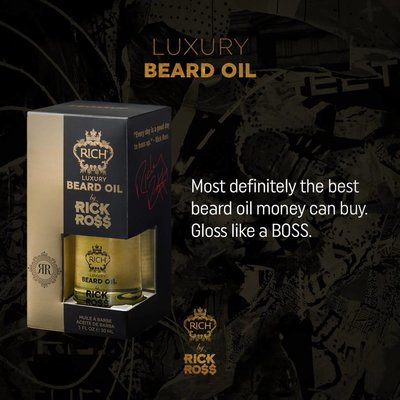 Rick Ross Luxury Beard oil, 30ml