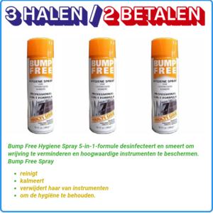Bump Free 3 x Hygiene Spray, 68gr (2+1 Gratis)